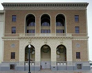 Fresno Bee Building - Facade.