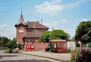 Friedland, Lower Saxony - Train station