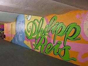 Friedrichsdorf station - Restored underpass