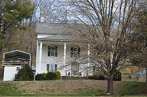 National Register of Historic Places listings in Grayson County, Virginia - Image: Fries Boarding House