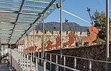 Friesach Fuerstenhofplatz 3 Kastenspeicher Zugang mit eisernen Hellebardentraegern 21122016 5817.jpg