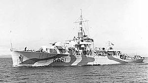 HMCS Antigonish (K661) - Image: Frigate river rcn antigonish