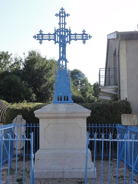 Fromeréville (Meuse) croix de chemin