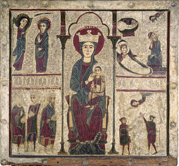 Altar frontal from Rigatell