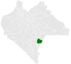 Municipality of Frontera Comalapa in Chiapas