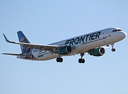 """Frontier Airbus A321 """"Otto the Owl"""""""