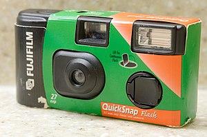 Disposable camera - Fujifilm QuickSnap, 2003