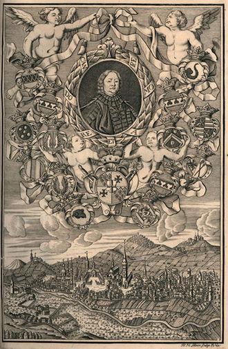 Prince-abbot - Adolf von Dalberg, Prince-Abbot of Fulda 1726-1737