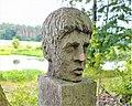 Furstenwalde, Ulf Schuler, Rauschen sculpture.jpg