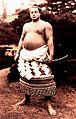 Futabayama holding the yokozuna sword 002.jpg