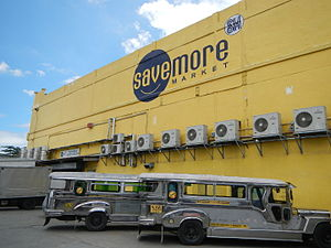 Puregold wikivisually sm supermarket an sm savemore market branch in santa maria bulacan malvernweather Choice Image