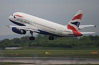 G-EUPJ - A319 - British Airways Shuttle