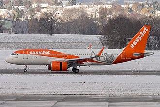 EasyJet - easyJet Airbus A320neo.