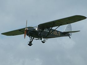 de Havilland DH.80A Puss Moth, registrato come G-ABLS nel 1931.
