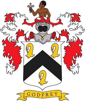Edmund Berry Godfrey - Godfrey coat of arms