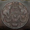 Gajalaxmi - Medallion - 2nd Century BCE - Red Sand Stone - Bharhut Stupa Railing - Madhya Pradesh - Indian Museum - Kolkata 2012-11-16 1845 Cropped.JPG