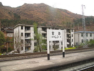Ganluo County County in Sichuan, Peoples Republic of China