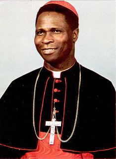 Bernardin Gantin Cardinal of the Catholic Church from Benin