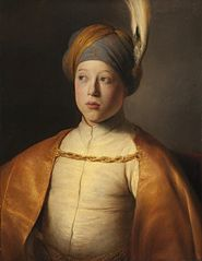 Boy in a Cape and Turban