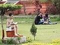 Garden Scene - Banaras Hindu University - Varanasi - Uttar Pradesh - India (12519590493).jpg