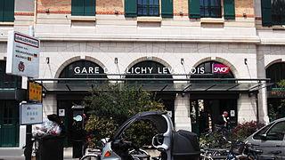 Clichy–Levallois station railway station in Clichy, France