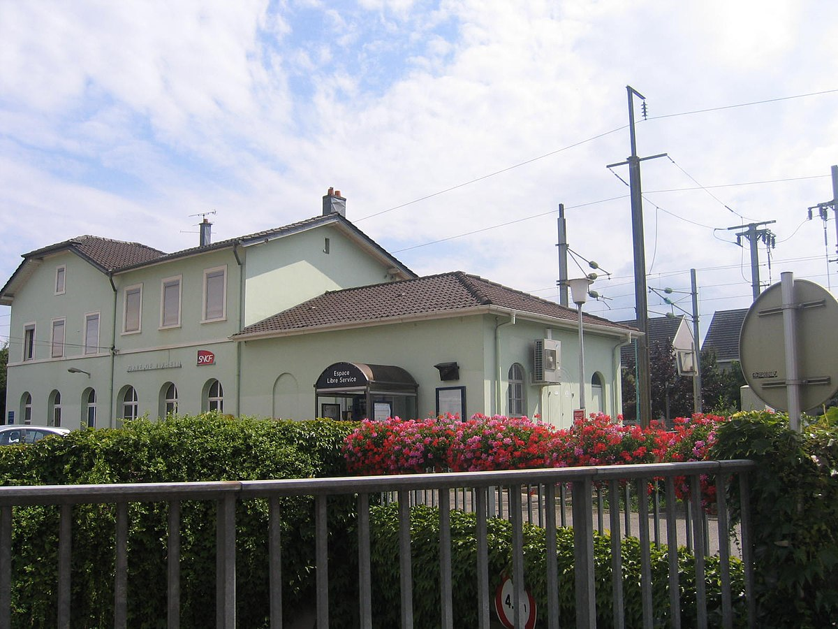 Gare de rixheim wikip dia for Piscine de rixheim