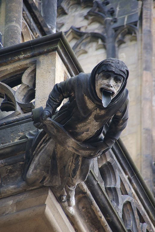 Gargoyle on St. Vitus Cathedral, Prague