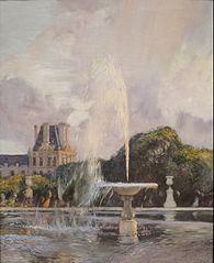 Jet d'eau aux Tuileries