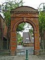 Gateway erected in 1886 by the Four Per Cent Industrial Dwelling Company Ltd. - geograph.org.uk - 308908.jpg