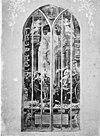gebrandschilderd glas- zege der vrijheid van het geweten over het geweld. naar foto in- harting, geschiedenis der kerkglazen enz. - gouda - 20081694 - rce