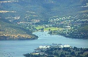 Geilston Bay, Tasmania - View from Mount Wellington