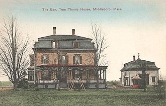Middleborough, Massachusetts - General Tom Thumb House in 1914
