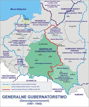 Generalne gubernatorstwo 1945