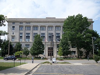 Genesee County, Michigan - Image: Genesee County MI Courthouse