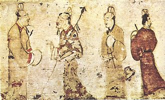 Chinese painting - Painting from the Eastern Han Dynasty (25–220 CE), Museum of Fine Arts, Boston