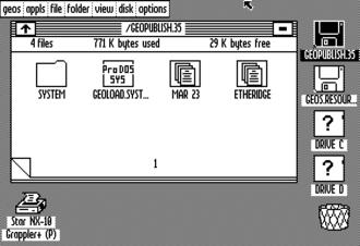 GeoPublish - Apple II release.