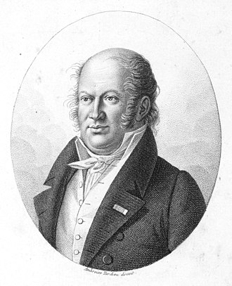 Étienne Geoffroy Saint-Hilaire - Étienne Geoffroy Saint-Hilaire in 1823