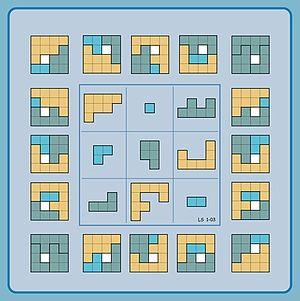 Geometric magic square - Image: Geomagic square 3x 3 normal sqare target