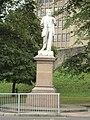 George Leeman statue, Station Avenue, York - DSC07755.JPG