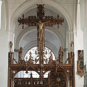 Bernt Notke - Image: Germany Luebeck Cathetral thriumphcrucifix