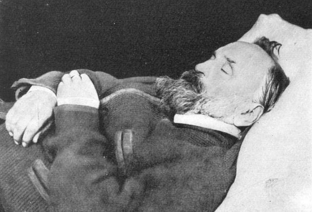 А.И.Герцен на смертном одре