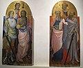Gherardo starnina, laterali con santi da tramonte di brancoli, s. martino, 1405 circa 01.JPG