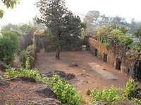 Ghodbunder Fort courtyard.jpg