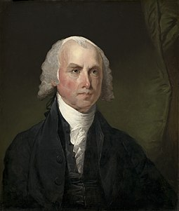 "James Madison, called the ""Father of the Constitution"" by his contemporaries Gilbert Stuart, James Madison, c. 1821, NGA 56914.jpg"