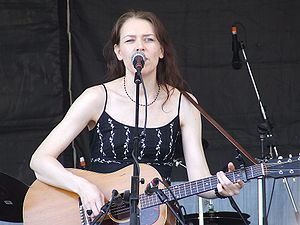 Gillian Welch - Gillian Welch performing at the 2007 New Orleans Jazz Fest