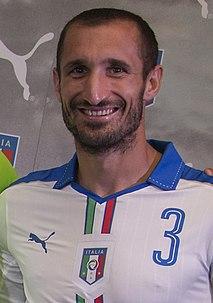 Giorgio Chiellini Italian footballer