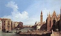 Giovanni Antonio Canal, il Canaletto - Grand Canal - from Santa Maria della Carità to the Bacino di San Marco - WGA03890.jpg