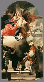 Giovanni Battista Tiepolo - The Virgin Appearing to St Philip Neri - WGA22285.jpg