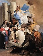 Giovanni Battista Tiepolo - The Virgin with Six Saints - WGA22284.jpg