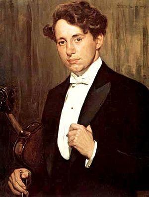 Giuseppe Barison - Giuseppe's son Cesare, Violinist